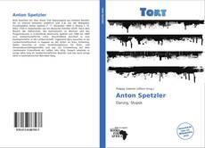 Portada del libro de Anton Spetzler