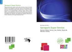 Couverture de Sprague's Super Service