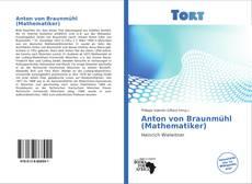 Capa do livro de Anton von Braunmühl (Mathematiker)