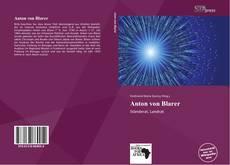 Portada del libro de Anton von Blarer
