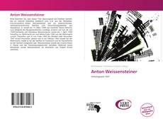 Bookcover of Anton Weissensteiner