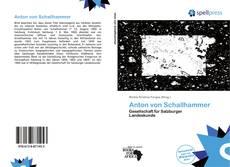 Borítókép a  Anton von Schallhammer - hoz