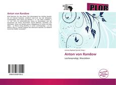 Bookcover of Anton von Randow
