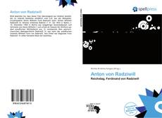 Bookcover of Anton von Radziwill