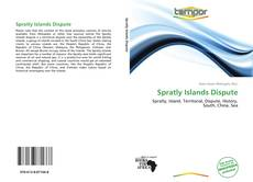 Bookcover of Spratly Islands Dispute