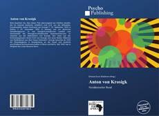 Buchcover von Anton von Krosigk