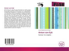 Capa do livro de Anton van Eyk
