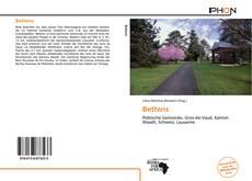 Buchcover von Bettens