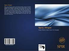 Spray, Oregon kitap kapağı