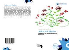 Anton von Stadler kitap kapağı