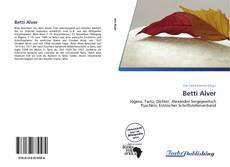 Buchcover von Betti Alver