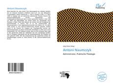 Capa do livro de Antoni Naumczyk