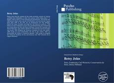Bookcover of Betsy Jolas