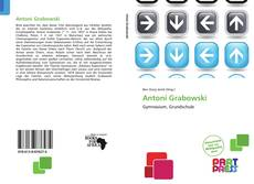 Buchcover von Antoni Grabowski