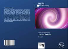 Buchcover von Antoni Barceló