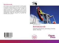 Bookcover of Betriebsstunde