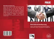 Capa do livro de Betriebsvereinbarung