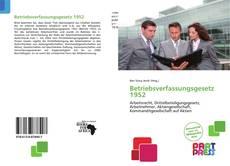 Capa do livro de Betriebsverfassungsgesetz 1952
