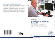 Buchcover von Betriebswirtschaftliche Kennzahl