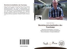 Betriebswirtschaftslehre des Tourismus kitap kapağı