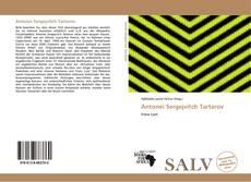 Bookcover of Antonei Sergejvitch Tartarov