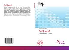 Bookcover of Perl Opengl