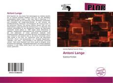 Capa do livro de Antoni Lange