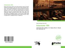 Bookcover of Interstate 184