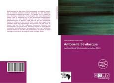 Copertina di Antonella Bevilacqua