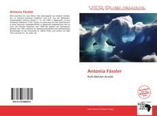Buchcover von Antonia Fässler