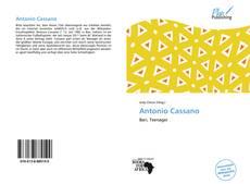Borítókép a  Antonio Cassano - hoz