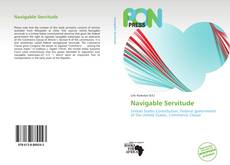 Bookcover of Navigable Servitude