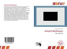 Copertina di Antonio Bevilacqua