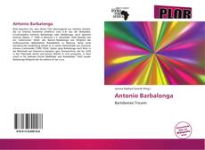 Bookcover of Antonio Barbalonga