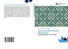 Bookcover of Antonina Michailowna Maximowa