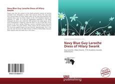 Copertina di Navy Blue Guy Laroche Dress of Hilary Swank