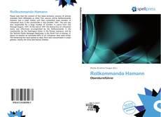 Обложка Rollkommando Hamann