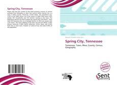 Copertina di Spring City, Tennessee