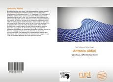 Couverture de Antonio Aldini