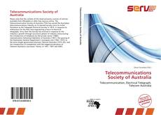 Bookcover of Telecommunications Society of Australia
