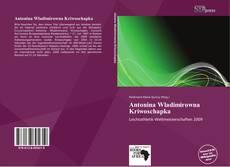 Bookcover of Antonina Wladimirowna Kriwoschapka