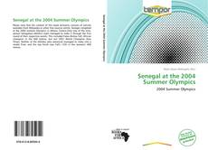 Bookcover of Senegal at the 2004 Summer Olympics