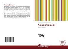 Portada del libro de Antonio Chimenti