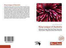 Bookcover of Navy League of Australia