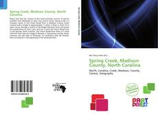 Couverture de Spring Creek, Madison County, North Carolina
