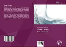 Bookcover of Perm Airlines