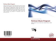 Portada del libro de Perlman Music Program