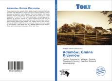 Adamów, Gmina Krzymów的封面