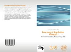 Couverture de Permanent Revolution (Group)