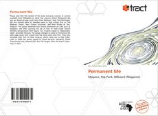 Bookcover of Permanent Me
